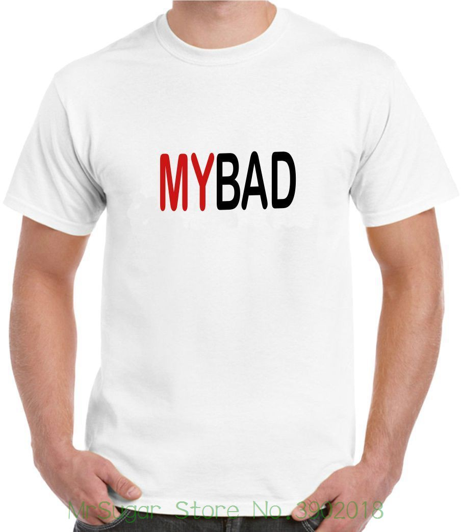 My Bad Drinking Game Mens mens Kids Funny T-shirt Joke Personalised Short Sleeve Cheap Sale Cotton T Shirt