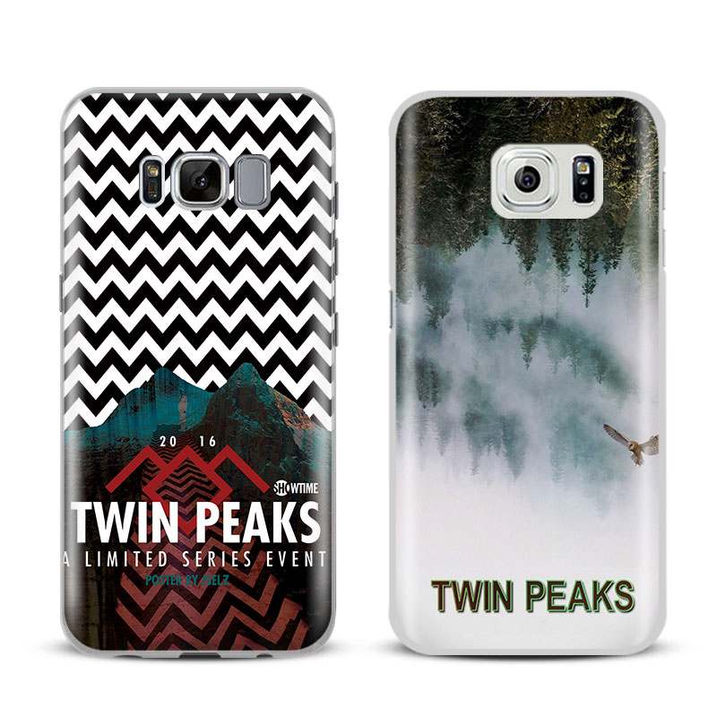 Twin Peaks Fashion Couqe For Samsung Galaxy S4 S5 S6 S7 Edge S8 Plus Note 8 3 4 5 A5 A710 J5 J7 2017 Mobile Phone Case Cover