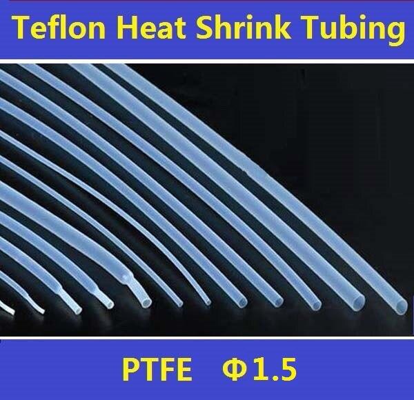 1,5mm PTFE 1,7: 1 Teflon Schrumpfschlauch Isolierung ...