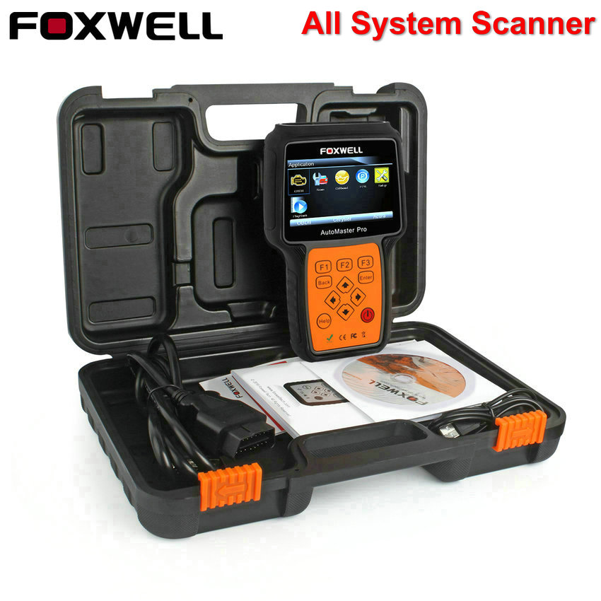 OBD Car Diagnostic Tool Foxwell NT624 Pro Full Systems Engine Transmission ABS Airbag SRS EPB Oil Reset OBD2 Automotive Scanner