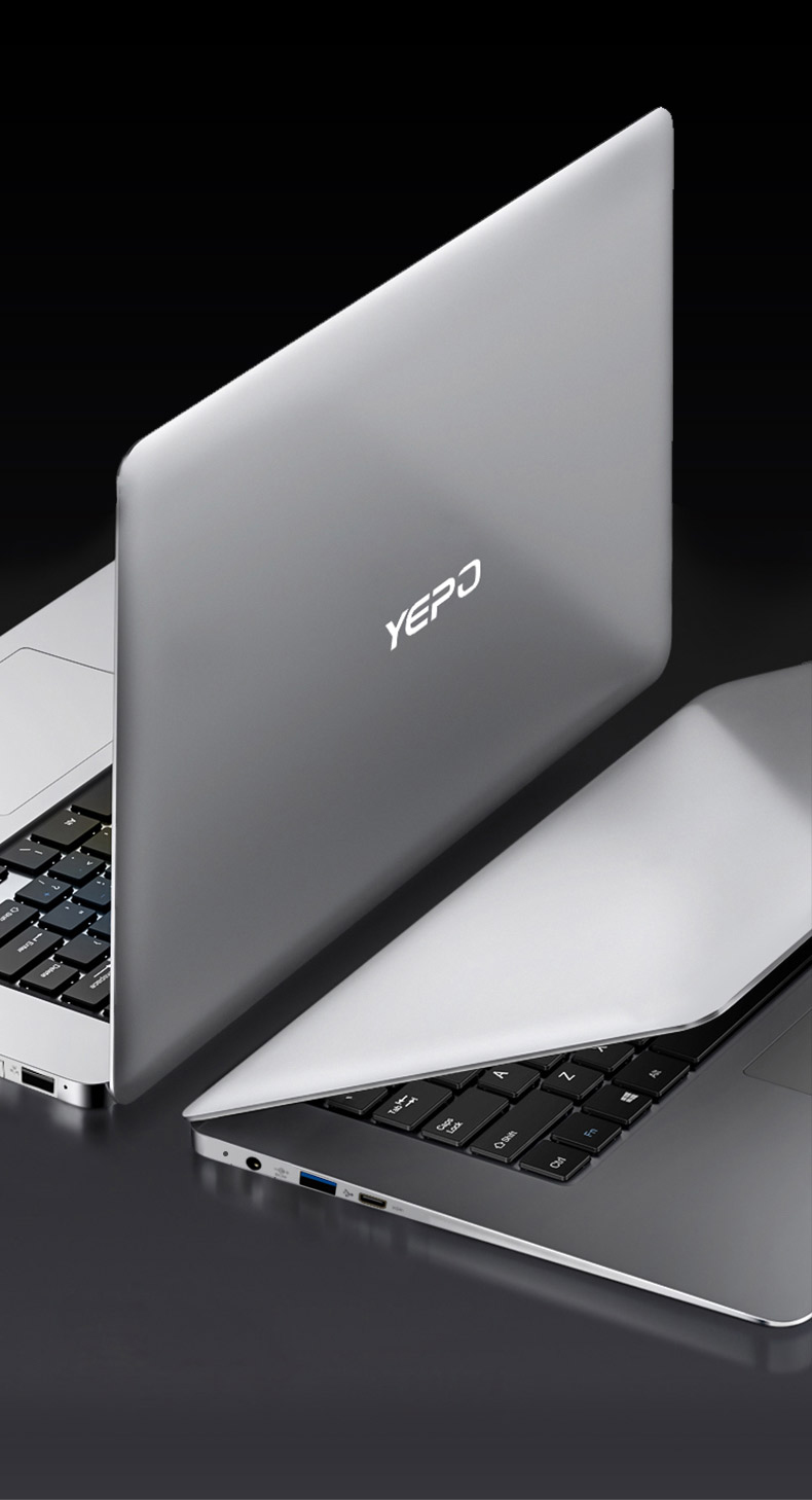 YEPO Notebook Computer 15.6 inch 8GB RAM DDR4 256GB/512GB SSD 1TB HDD intel J3455 Quad Core Laptops With FHD Display Ultrabook 21