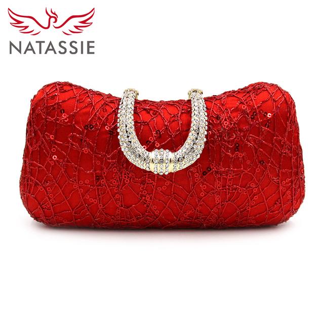 Women's Elegant Evening Party Clutch Bag