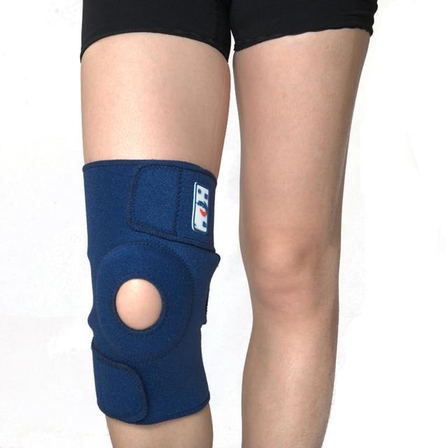 c3f2301dba SHUCI Elastic Knee Support Brace Kneepad Adjustable Patella Knee Pads  Safety Guard Strap protective sports knee