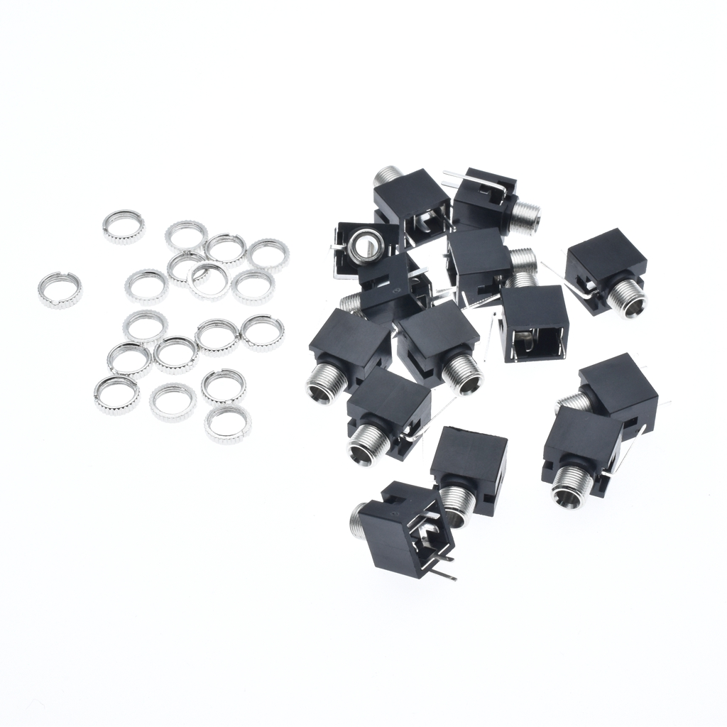 Original New 100% Headset Socket PJ-301M 3.5MM Audio And Video Socket Measuring 90 Degree Full Copper Temperature Resistance*