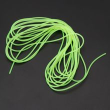 1 Pc Fishing Night Luminous Tube Fluorescent 5m Glow Sub Line Rig Tackle Accessories
