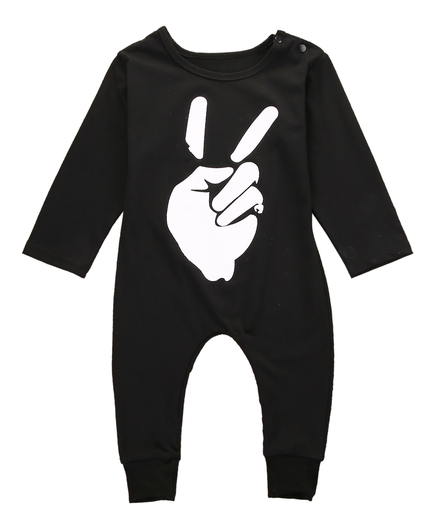 Uni Oh Yay baby clothes Autumn baby Rompers long sleeve