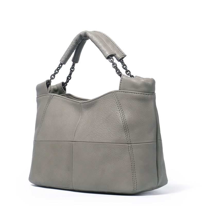 ICEV New European Fashion Simple 100% Genuine Leather Bags Handbags Women Famous Brands Women Leather Handbags Casual Tote Sac new weave fashion casual tote genuine leather sheepskin women bags handbags women famous brands fashion shoulder bag ladies sac