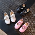 antiskid soft bottom girls leather shoes, fashion stereo flower girls princess leather shoes, casual shoes, doug shoes
