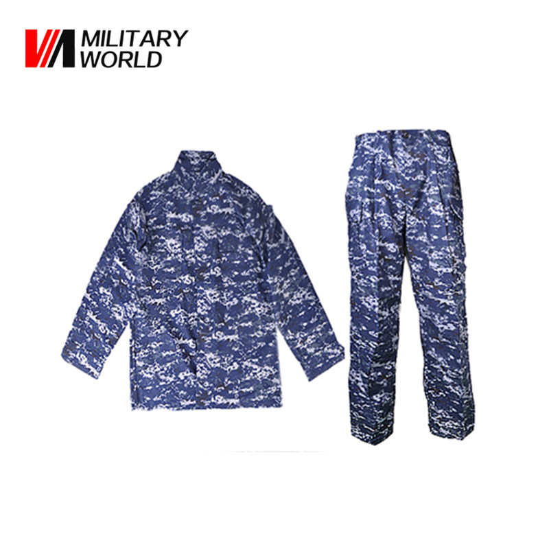 Men Camouflage Combat V3 Uniform Long Shirt and Pants With Zipper Tactilcal Hunting Camping Jacket Clothes Suits Sportswear