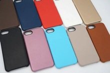 High quality Original with logo Official For apple iphone7plus leather case i7plus funda Cover soft Bags coque luxury case
