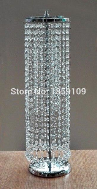 Sky Wheel Acrylic Crystal Wedding Centerpiece With Beautiful Drops Table 22