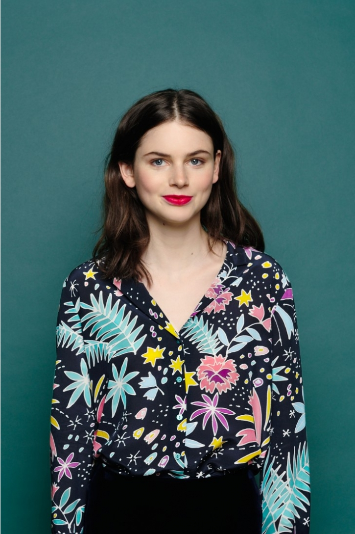 Urlaub stil V ausschnitt Mit langen ärmeln silk shirt frauen blusen frauen shirts