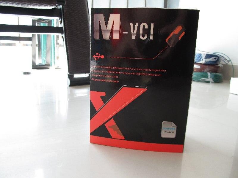 Mvci interface pour toyota tis pour hond hds pour volvo dés avec la plus nouvelle version xhorse mvci 3 en 1 V 10.00.028 Livraison gratuite