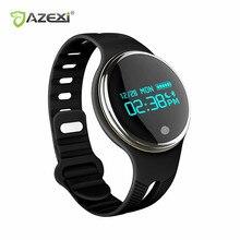 Azexi Новый Smart Band IP67 Водонепроницаемый Одежда заплыва Bluetooth 4.0 SmartBand Шагомер Спорт Смарт Браслет Фитнес трекер анти потерял