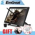 "UGEE UG-1910B Profesional 19 ""Pulgadas 5 MS LCD Monitor Arte Tableta Gráfica Dibujo Digital Tablero Digitalizador + Guante como regalo"