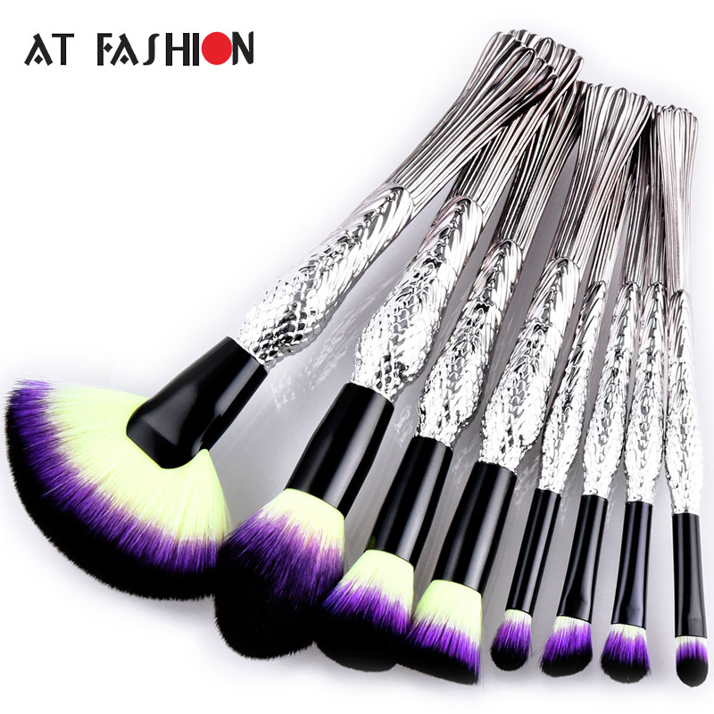 New 4/8/10Pcs Makeup Brush Set Professional Cosmetics Foundation Powder Brushes Set Kit Woman Make Up Tools Pincel Maquiagem 26 pcs professional makeup brushes beauty woman s kabuki cosmetics makeup brush set tools foundation brush pincel de maquiagem