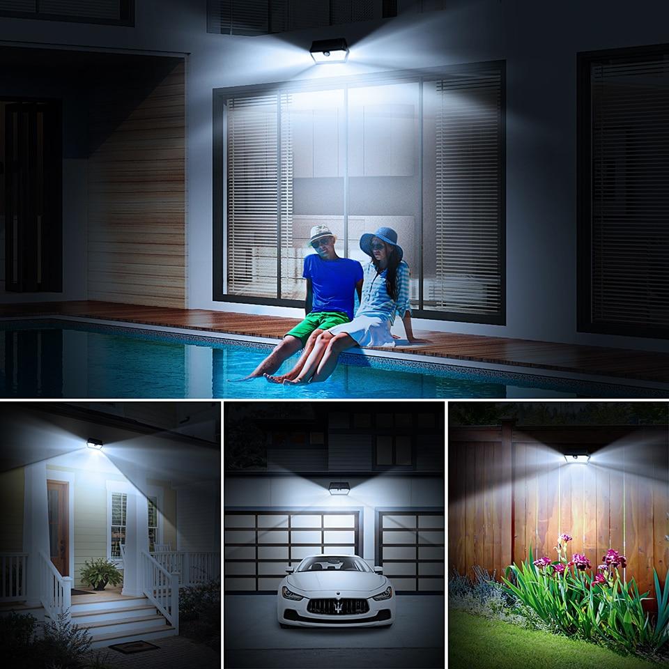 Mpow CD168 40 LED Solar Garden Light Outdoor IP65 Waterproof Brightness Adjustable Solar Lamps (6)