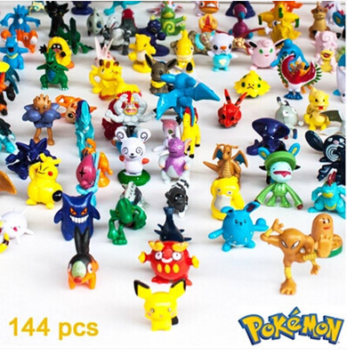 <font><b>144</b></font> pcs/lot pokemons wholesale More <font><b>style</b></font> My <font><b>poke</b></font> <font><b>mon</b></font> Cute little <font><b>action</b></font> Mini dolls <font><b>figures</b></font> toys Random brinquedos