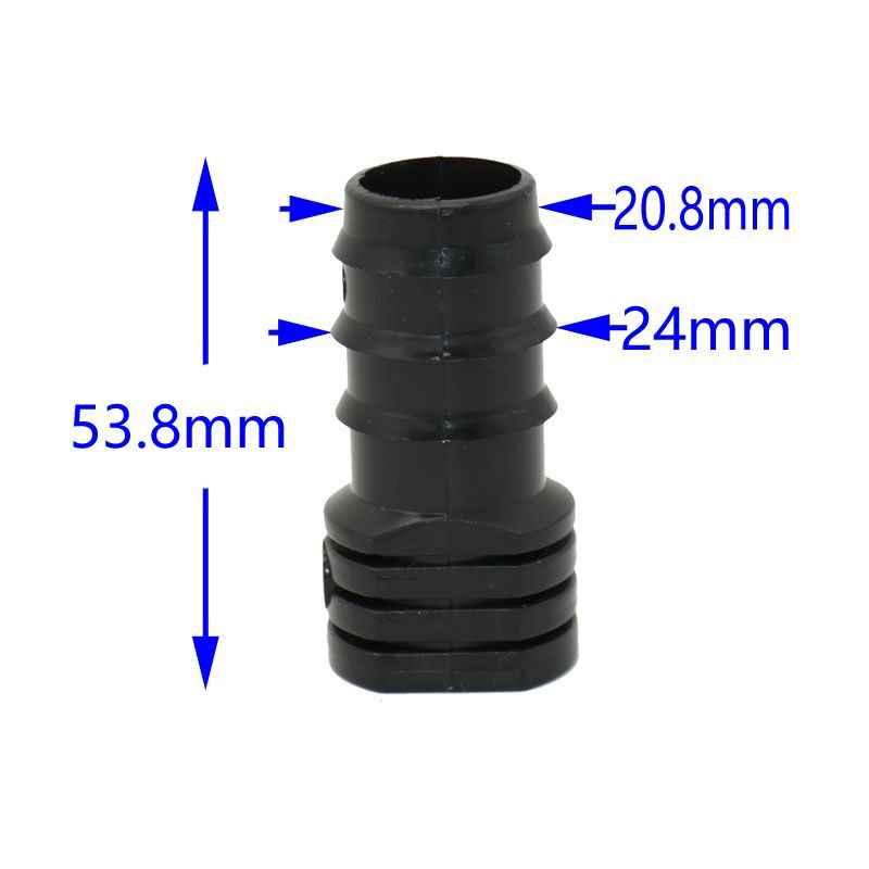 Tapón de cierre para manguera conector diverse diámetro