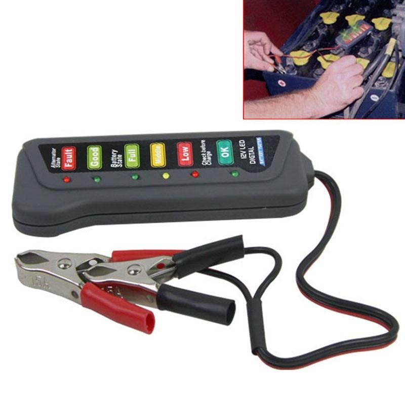 12V Car Battery Tester Analyzer Digital Car Battery Tester Auto Car Battery Auto Alternator Diagnostic Tool