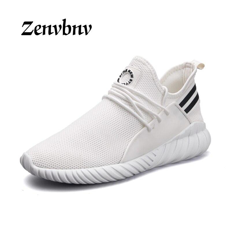 ZENVBNV Men Lightweight Mesh(Air mesh) Running Shoes 2018 Cushioning Walking Shoes Men Breathable Jogging Training Men Sneakers