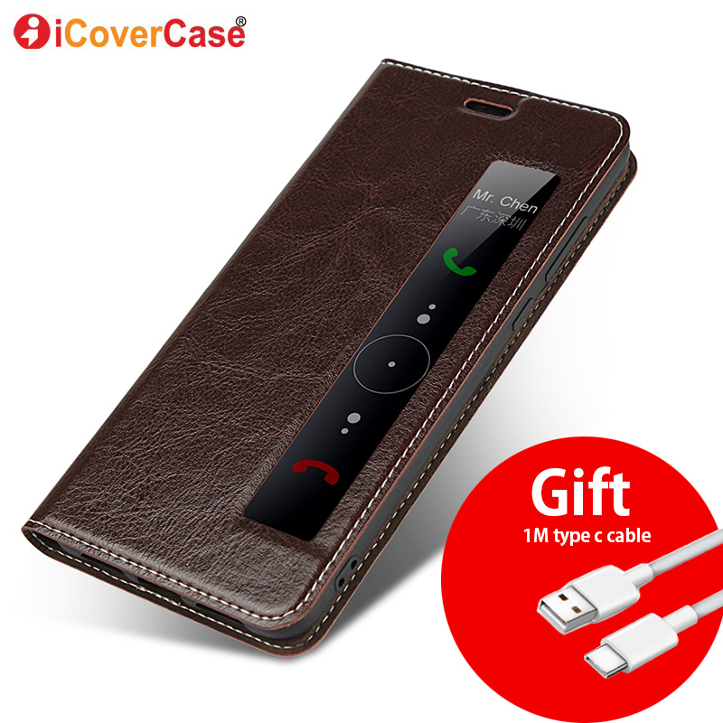 nuovo stile 01117 1dac5 US $9.19 35% OFF|Genuine Leather Case For huawei P20 Pro cover Magnetic  case For Huawei P20 Pro Flip Cases leather cover P20 Phone cases Fundas-in  ...