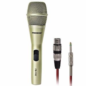 Image 2 - FREEBOSS FB Y02 رائجة البيع عالية الجودة المهنية السلكية ميكروفون لحزب هيئة التصنيع العسكري Karoke KTV