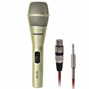Image 2 - Freeboss FB Y02 venda quente de alta qualidade profissional microfone com fio para microfone karoke ktv festa
