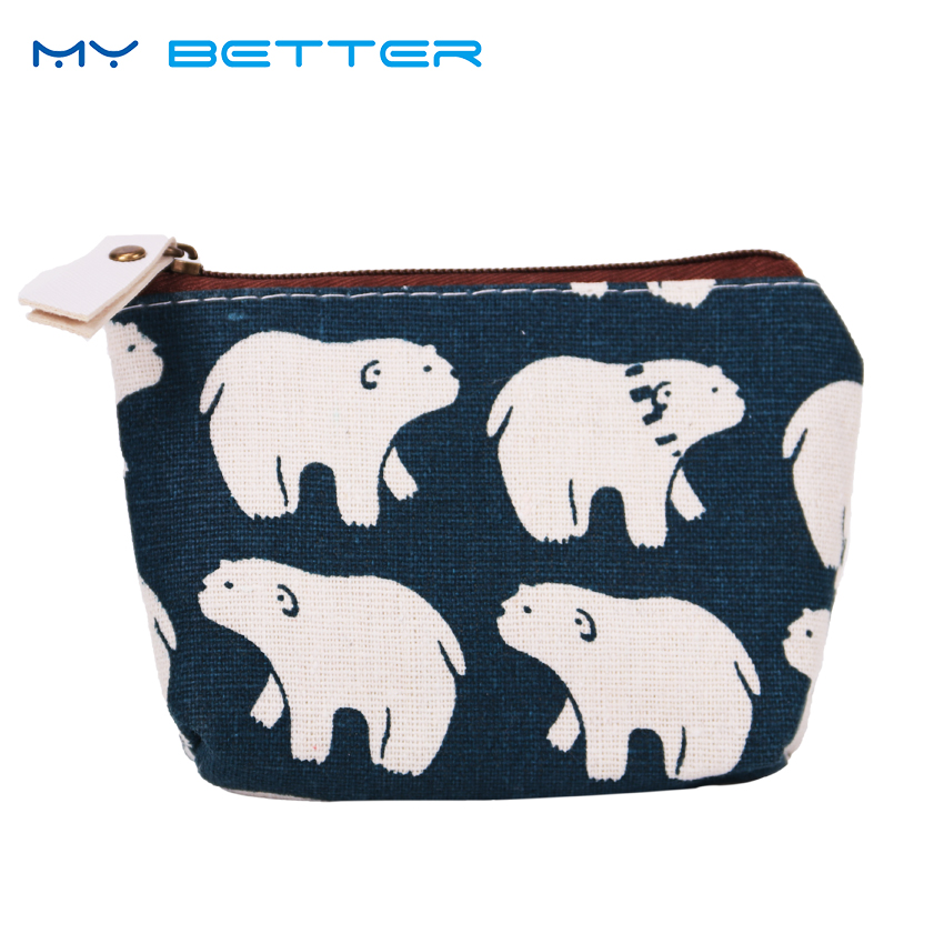 2PCS Excellent Quality New Style Coin Purses Ladies Wallet Small Zipper Pouch Cute Portable Key Coin Purse Makeup Bag Gift