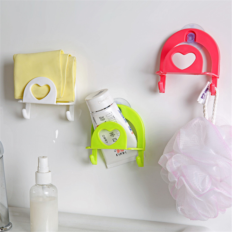 eco plastic wall mounted sponge rack candy color bathroom shelf kitchen sink drain rack stand hanging - Kitchen Sink Stands