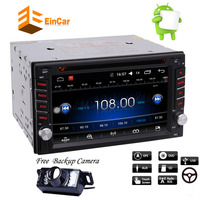 6.2 Android 6.0 Double 2Din Head Unit Auto Car Radio Stereo car DVD Player GPS Map Nav OBD2 DVR 4G WiFi Capacitive Touch Screen