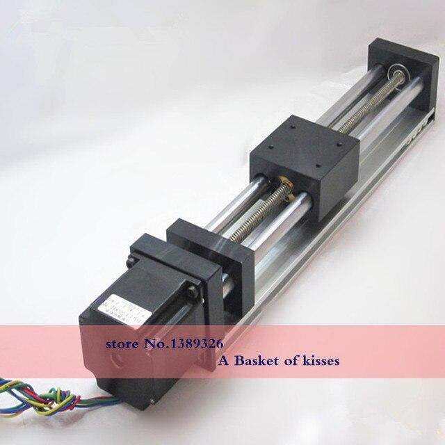 Slide linear guide slider 57 axis linear guide rail ladder / line rail flange with 500 stroke lengthening