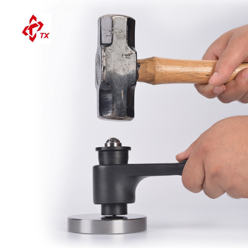 Marque TX PHB-1 broches marteau Impact Brinell testeur de dureté mètre duromètre petites et très grandes pièces coulée tuyaux de tôle