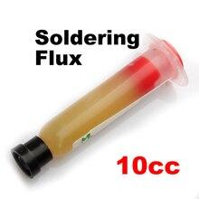 Слабенькая кислота SMD паяльная паста Флюс смазка SMT IC 10cc инструмент для ремонта паяльная печатная плата M25