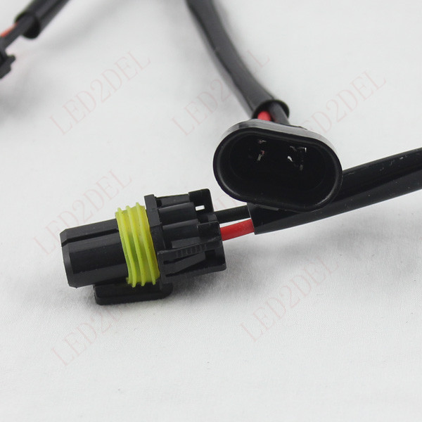 50cm Pre Wired 9006 HB4 Male Female Extension Wire Harness Adapter Socket for Headlight fog light aliexpress com buy 50cm pre wired 9006 hb4 male female extension  at eliteediting.co