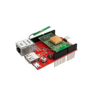 Image 5 - RT5350 moduł Openwrt Router WiFi bezprzewodowa karta rozszerzenia ekranu wideo dla Arduino Raspberry Pi