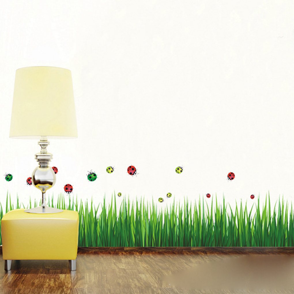 Lovely Diy Green Grass Skirting Line Nursery Kindergarten