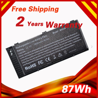 11.1V 87Wh High quality Laptop battery for DELL Precision M6600 M6700 M6800 M4600 M4700 M4800 FV993 FJJ4W T3NT1 PG6RC OTN1K5