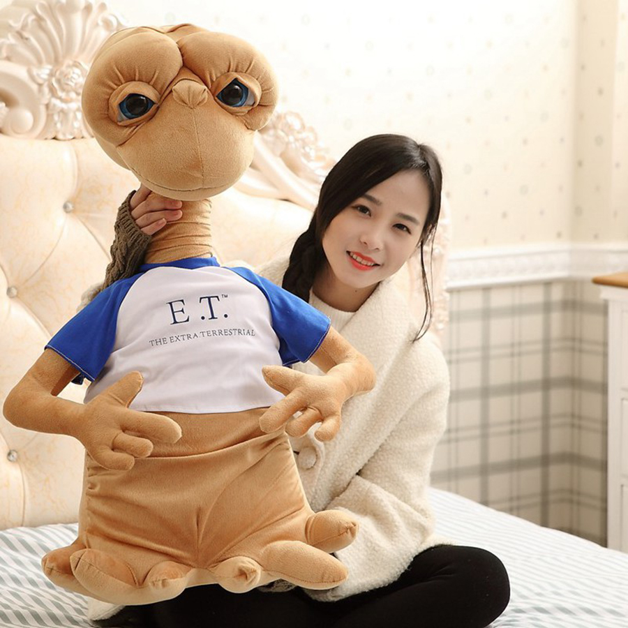 Et Aliens Extraterrestrial Simulation Child Doll Alien Plush Toy Soft Baby Toys For Girl Gifts Regalos Originales 50T038