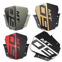Motorcycle Aluminum Upper Headlight Top Cover Panel Fairing For Yamaha MT 09 2014 2016