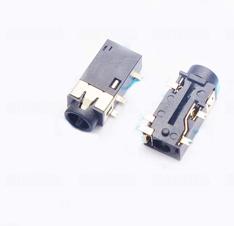 100pcs - 5000pcs/pack311 4.0 3 + 3 MP5 3.5 Headphone Hole 6 Pin Socket Headset Accessory нитки gutermann 100% п э 30 м 5 шт 744506 132013 311 311