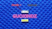 Para a aplicação afiada da tevê do diodo emissor de luz do luminoso do diodo emissor de luz do lcd para o diodo emissor de luz da potência média 0.4 w 3 v 4214 branco fresco
