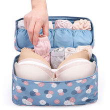 Waterproof Bra Underwear Storage Bag Women Travel Bags for Socks Cosmetics Makeup Drawer Organizer Bag Pouch Case Accessories fashion lady striped letters printing organizer pouch storage makeup bag gifts women female zipped travel cosmetics bags popular