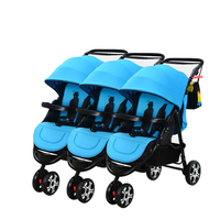 Multifunction Mutiple Twins Stroller Separable Assemble Shockproof Folding Easy Triplets Quadruplets Strollers 4 Color Optional