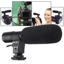 3.5mm Universal Microphone External Stereo Mic for Canon Nikon DSLR Camera DV Camcorder  MIC 01 SLR Camera Microphone