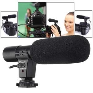 Image 1 - 3.5mm Universal Microphone External Stereo Mic for Canon Nikon DSLR Camera DV Camcorder  MIC 01 SLR Camera Microphone