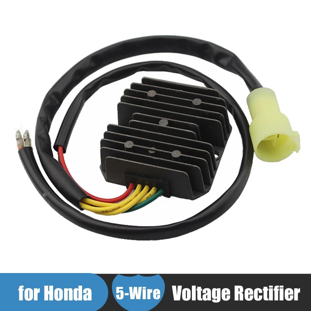 12v motorcycle atv voltage regulator rectifier for honda trx300 fw fourtrax 300 4x4 1993 1994 1995 [ 1000 x 1000 Pixel ]