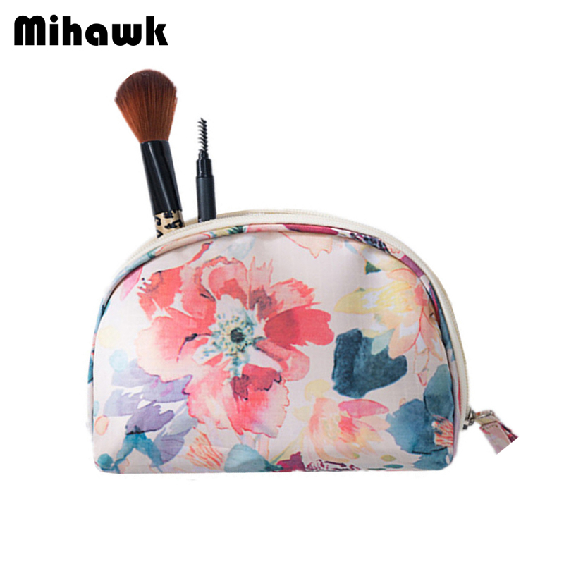 Mihawk Women's Mini Cosmetic Bag Beauty Makeup Case Toiletry Vanity Organizer Travel Wholesale Bulk Accessories Supplies Product цена