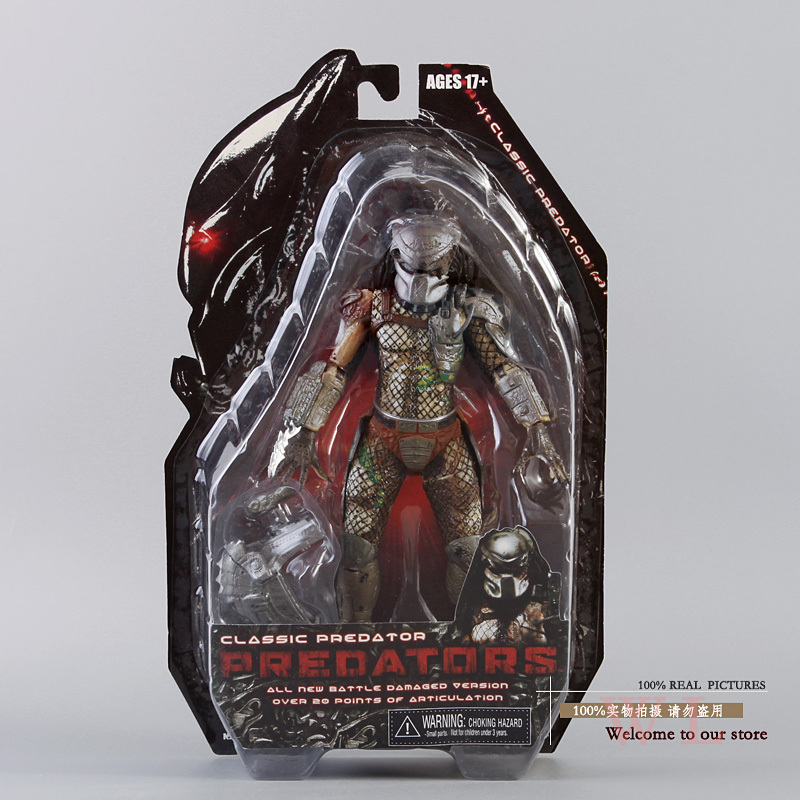 Free Shipping NECA Movie Predator Series 2 Classic Predator PVC Action Figure Collection Toy 820cm Christmas gifts MVFG109 free shipping xc3020 70pg84m new original and goods in stock