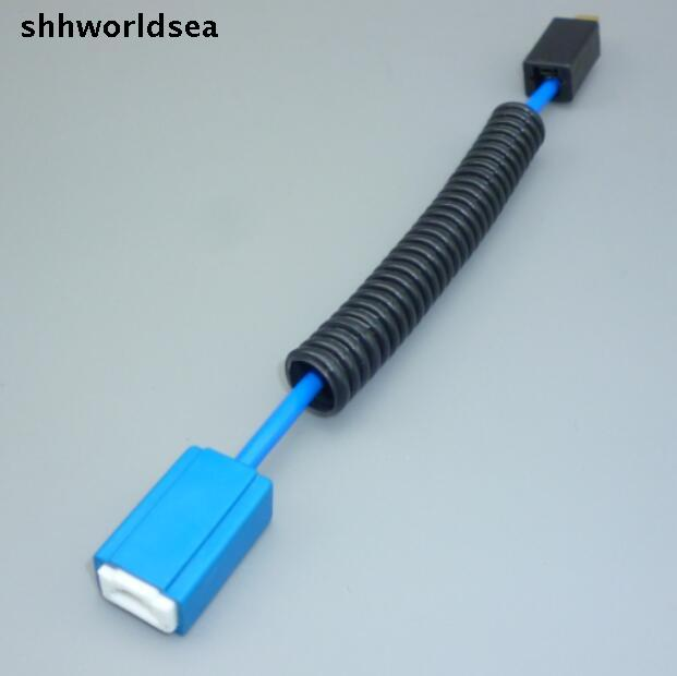 shhworldsea 2PCS/lot H1 H3 ceramic Headlight Wiring Harness lamp  on